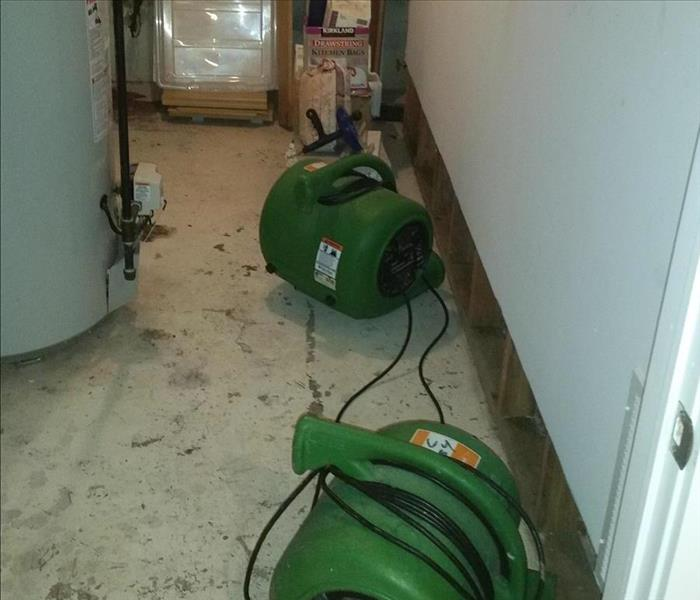 Water Heater leads to Water Damage Disater After