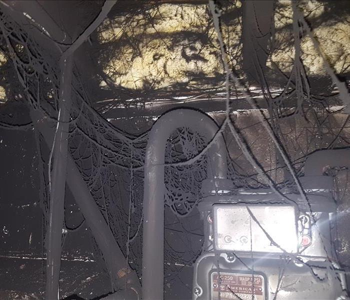 Fire Damage Before and After Before