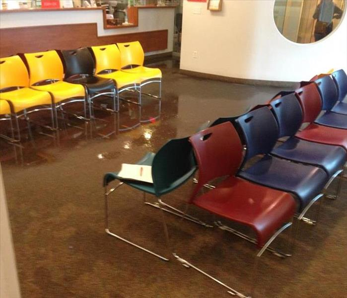 Flooded Waiting Room