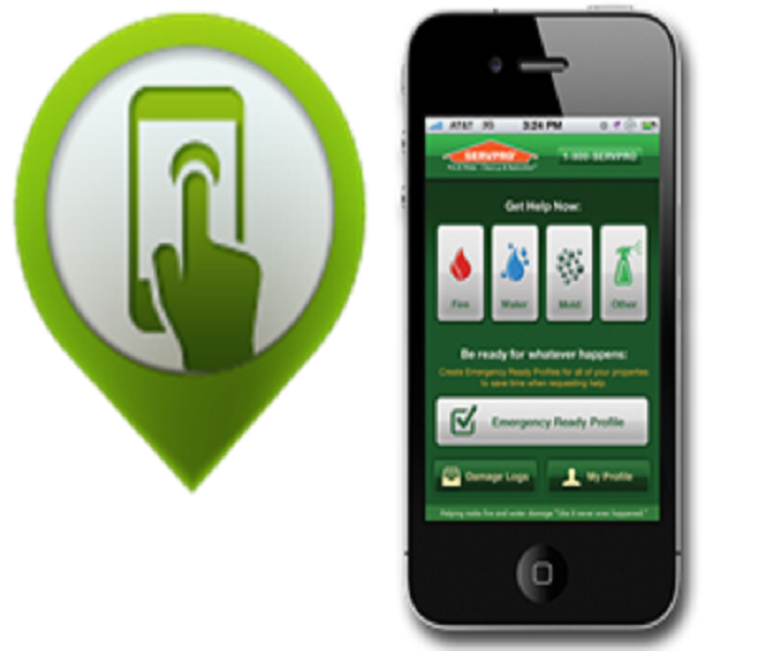 General SERVPRO Ready Plan Mobile App: Help for any size disaster
