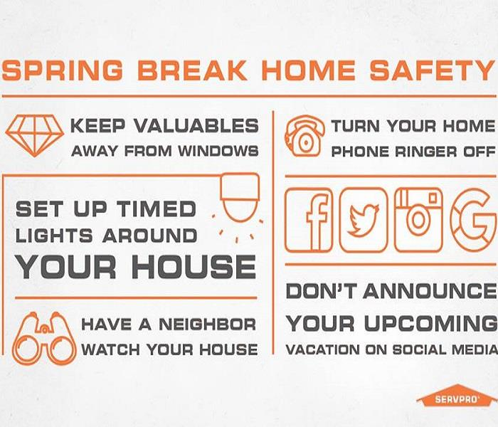 General Home Safety during Spring Break